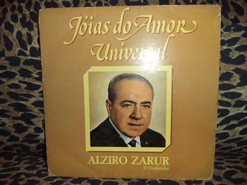 Alziro Zarur Compacto Vinil Jóias Do Amor ( Vinil Raro )