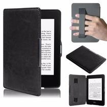 Capa Case Hibernação Amazon Kindle Paperwhite + Película