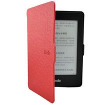 Capa Kindle Paperwhite Premium Auto Liga/desliga - Vermelha
