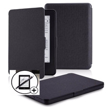 Capa Kindle Paperwhite Ultra Slim Couro + Pelicula + Caneta