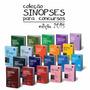 Coleção Completa De Sinopses Jurídicas Para Concurso