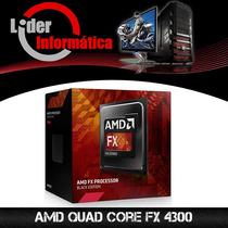 Processador Amd Quad Core Fx 4300 (3.8 8mb Cache)