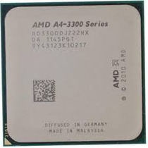 Processador Fm1 A4 3300 2.5ghz Com Amd Radeon Hd 6410d