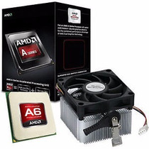 Processador Amd A6 6400k Box - Socket Fm2