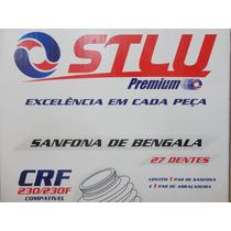 Sanfona Bengala 27 Dentes Crf 230 Crf 230f Preta Stlu 06146