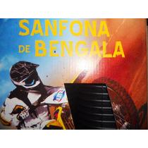 Sanfona Bengala 12 Dentes Titan Cg Strada Preta Stlu 06107