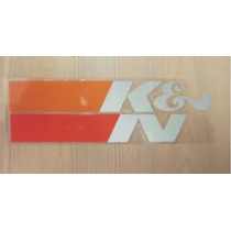 Adesivo K&n K N Filtro Esportivo Euro Jdm Moto Carro Kn V8