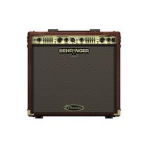 Cubo Amplificador Behringer Ultracoustic Acx450 P/ Violão