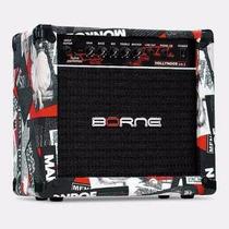 Cubo Amplificador Guitarra Borne Strike G70 Novo Caixa