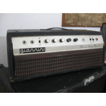 Amplificador Giannini Thunder Sound Bass Ii 1969 Valvulado