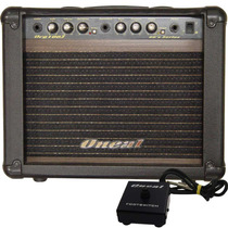 Cubo Guitarra Oneal Ocg100f Com Pedal Footswitch - 30wrms