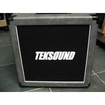 Gabinete P/ Caixa Teksound 1x12 Para Guitarra - Tkg112