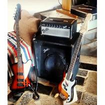 Cabeçote E Caixa Contrabaixo Fender - Side Kick Bass 100