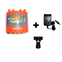 Kit Power Click Db05 Color Laranja+ Fonte Ps01 + Suporte Spp