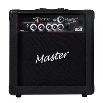Cubo Amplificador Para Guitarra Master Gt15 Usb