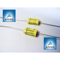 10x (dez) Capacitores Mkt Axial Epcos 0,047uf 630v