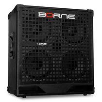 Caixa Borne 410p 300w 4x10 Ideal P/ Cabeçote Pro 400 Pro 800