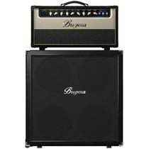 Cabeçote+caixa De Guitarra Bugera V55hd/412f Bk Classic 4x12