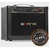 Amplificador P/ Guitarra Borne Vorax 12100 Preto - 100 Watts