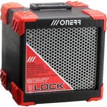 Amplificador Para Violão/teclado Onerr Block 20 Mt - 20w