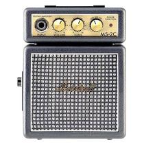 Mini Cubo Amplificador Marshall Guitarra 9v Ms-2c