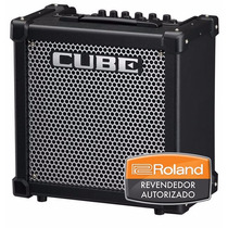 Amplificador Roland Cube-20gx * Loja * Nfe * Garantia