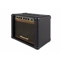 Cubo Amplificador De Guitarra Oneal Ocg-100 Pt Caixa 30w Rms