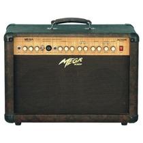 Mega Ac-60r Amplificador P/ Violão Cavaco 60w - Frete Grátis