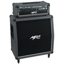 Mega T-64rs Cabeçote + Caixa Pre-valv Guitar Frete Grátis