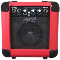 Mega Pl-10 Amplificador De Guitarra 10w - Red - Frete Grátis