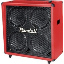 Caixa Randall 4x12 Rd412 Red Ñ 1960 Celestion - Crunchmusic