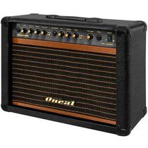 Cubo Amplificador Guitarra 60w Com Pedal Oneal Ocg200