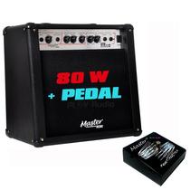 Cubo Ampl Guitar F 12 Gtx-1.12 80w Rms Master Audio C/ Pedal