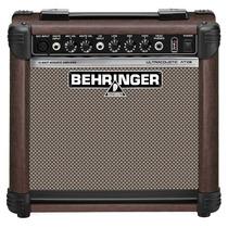 Behringer At 108 Ul . Caixa Amplificada Violão Voz . Loja !