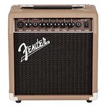 Amplificador Violão Fender Acoustasonic 15 (nf E Garantia)