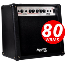 Amp Master Audio Gtx-1.12 Cubo Guitarra 80w Efeito Foot
