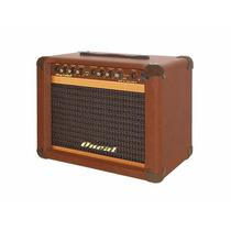 Cubo Para Guitarra Oneal Ocg-100f Mr (caixa + Pedal) 30w Rms