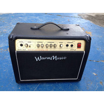 Amplificador Warm Music® 208 Gt 60 W Rms Para Guitarra