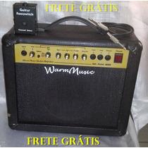Amplificador Guitarra Warm Music Com Pedal Foot Frete Grátis
