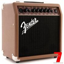 Combo Cubo Amplificador P/ Violão Fender Acousticsonic 15