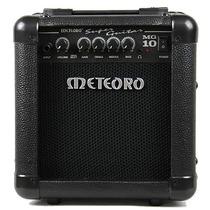 Cubo Amplificador P/guitarra 10w Rms Falante 6 Mg10 Meteoro