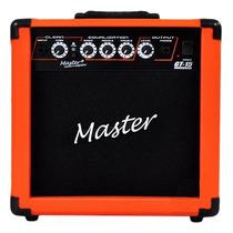 Frete Grátis - Master Audio Gt-15 Cubo Guitarra 15w Laranja