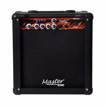 Amplificador Cubo Guitarra 30watts Gui 1.10 Usb Master Audio