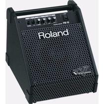 Amplificador De Som Roland Para Kits V-drums Pm-10