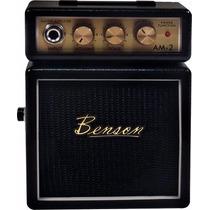 Mini Amplificador Benson Am2 B - Original - Nota Fiscal
