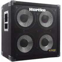 Caixa P/ Baixo Hartke 410 Xl 400w 4x10 Aluminio Gabinete