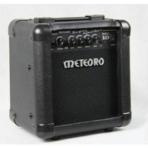 Amplificador Cubo Meteoro Mg10 C/ Distorcao + Brindes Fender
