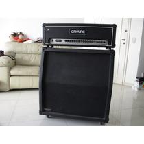 Crate Flexwave 120h Meteoro Mha Caixa 4x12 Falante Gabinete