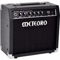 Amplificador Para Guitarra Meteoro Mg15 - Garantia De 3 Anos