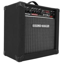Caixa Amplificada Soundmaker Cube K30 Som + Controle Remoto